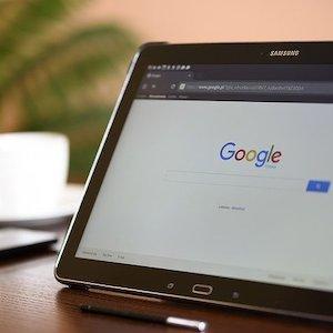 computer screen - internet marketing services