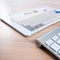 ipad google page - internet digital marketing services