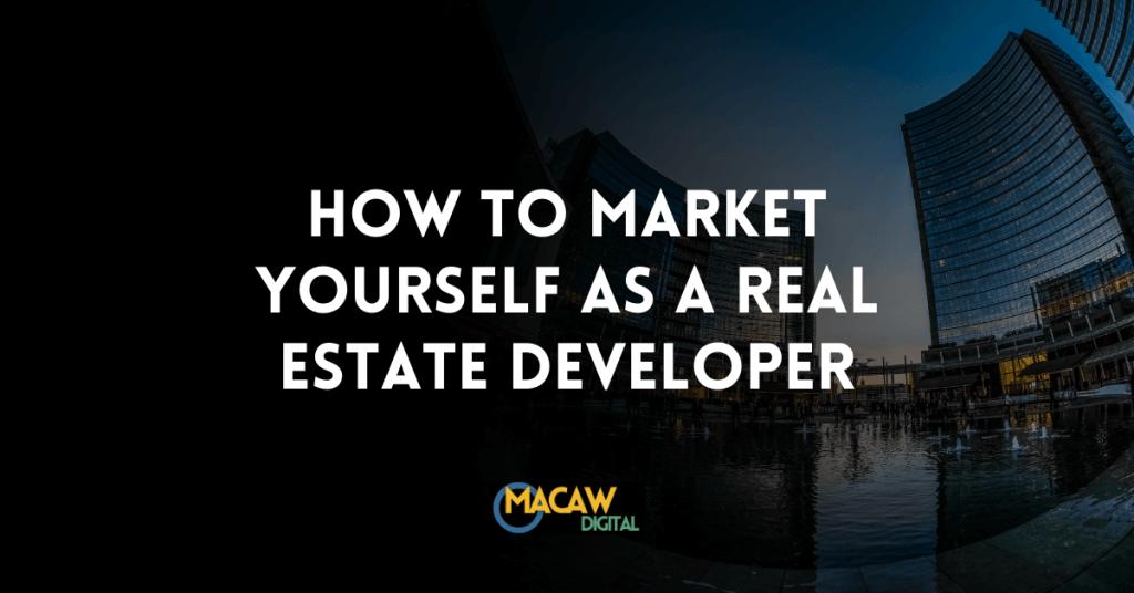 real estate development marketing plan