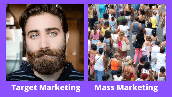 mass marketing vs target marketing