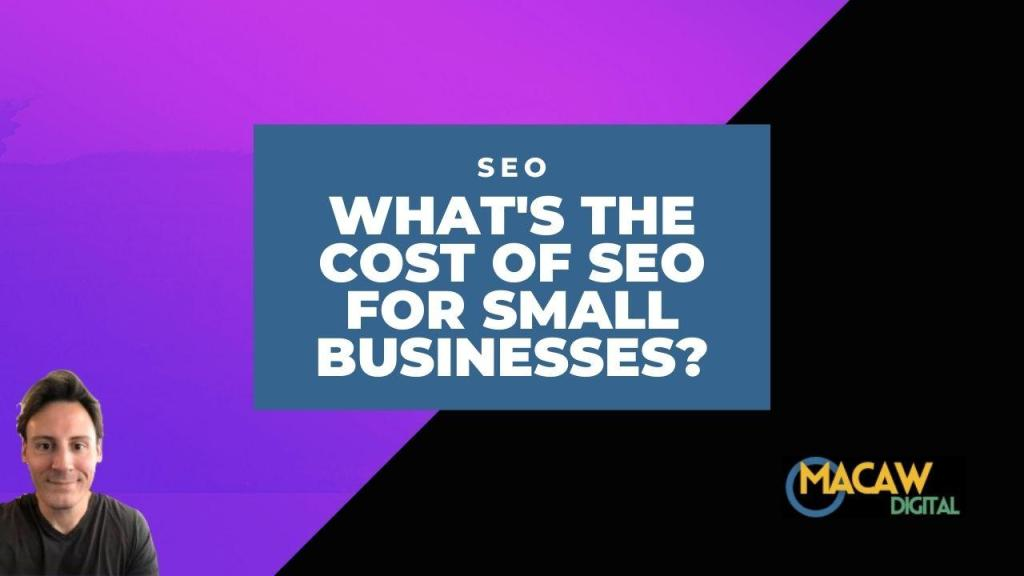 cost of seo for small businesses